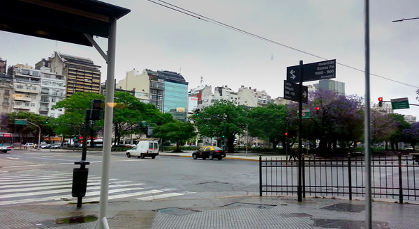 Rainy Sunday in Buenos Aires